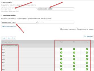 Utilizando VMware Product Interoperability Matrices e VMware Compatibility Guide para definir um pla