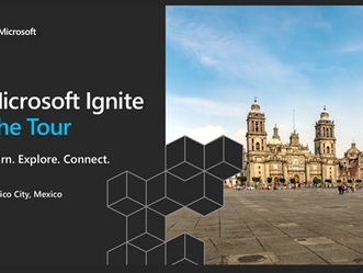 Microsoft Ignite - The Tour - Mexico City