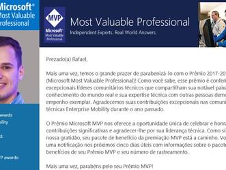 YAY! Microsoft MVP Renovado!