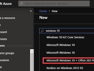 Criando uma imagem customizada para o Windows Virtual Desktop