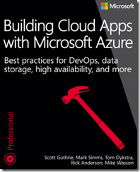 DOWNLOAD FREE EBOOK: BUILDING CLOUD APPS WITH MICROSOFT AZURE