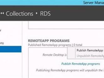 PUBLICANDO UMA APLICAÇÃO (REMOTEAPP) NO WINDOWS SERVER 2012