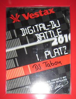 Vestax DJ Battle 1.Platz 2010.jpg