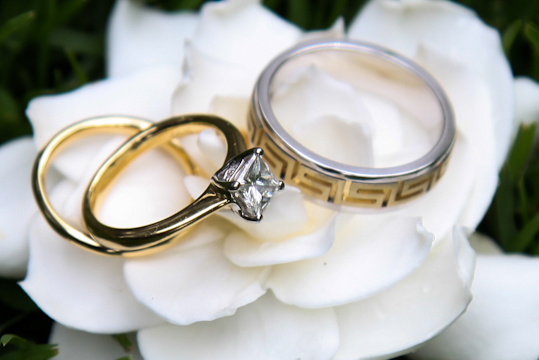 Wedding Photography Detail Rings