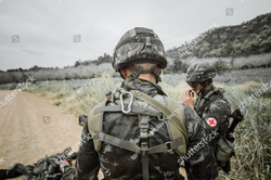 military in field