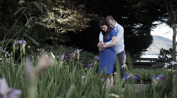 Maternity couple shoot, Canberra