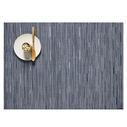 "Chilewich ""Bamboo"" Placemat - Rain"