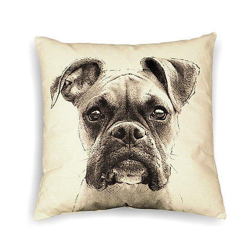 """Boxer"" Pillow"