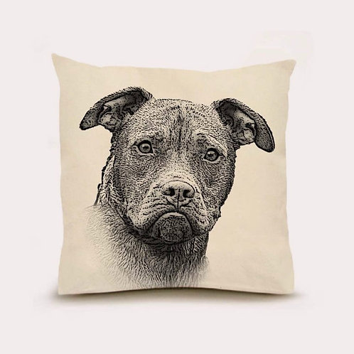 """Pittie"" Pillow"