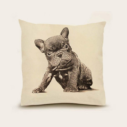 """Frenchie"" Pillow"