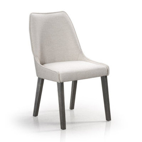 Olivia Dining Chair -with Wood Legs