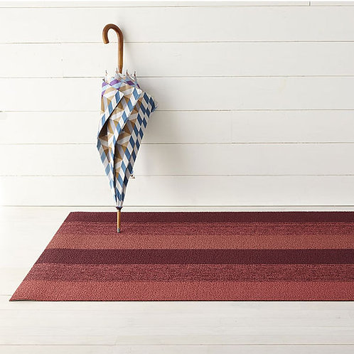 """Chilewich """"Marbled Stripe"""" Mat in Ruby"""