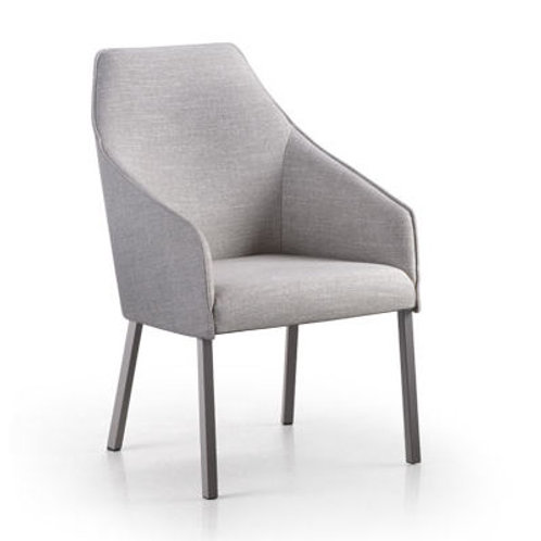 Sara II Plus Arm Chair with Metal Legs