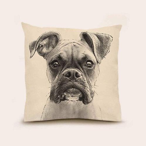 """Boxer"" Pillow"
