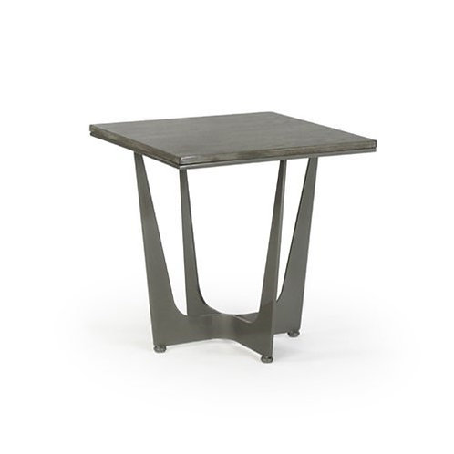 Connor Square Side Table - Wood Top