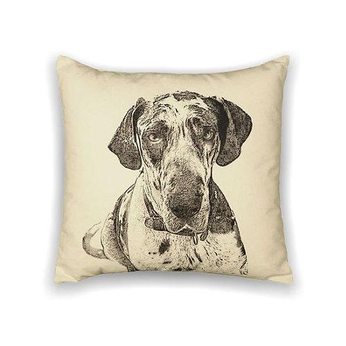 """Great Dane"" Pillow"