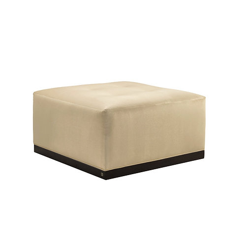 "Adriana Hoyos ""Chocolate"" Collection Ottoman"