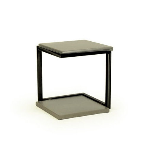 Alistair Side Table - Truffle/Manganese