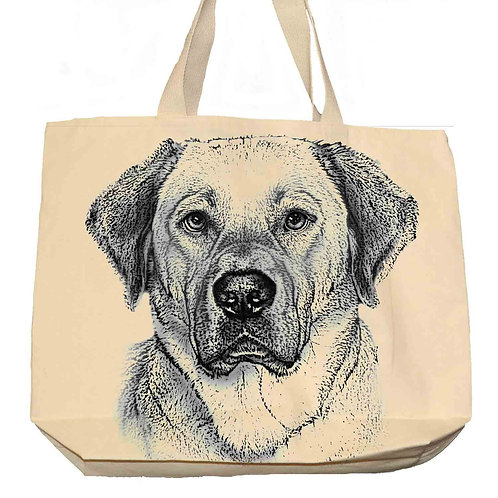 """""""Yellow Lab"""" Tote"""