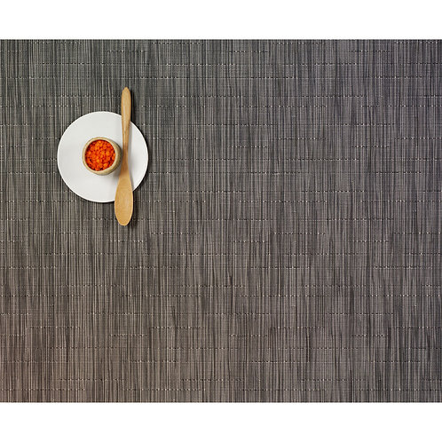 "Chilewich ""Bamboo"" Placemat in Grey Flannel"