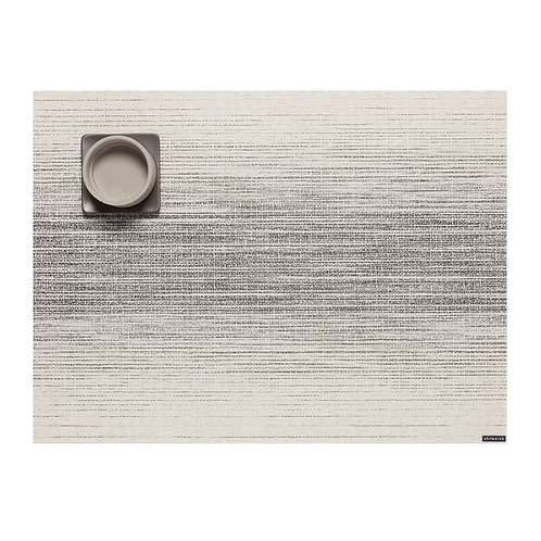 "Chilewich ""Ombre"" Rectangular Placemat in Natural"