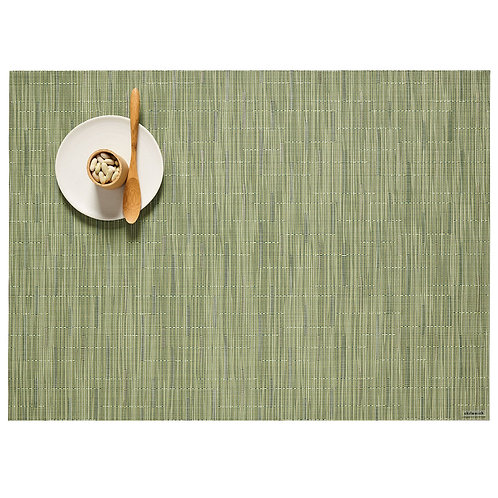 """Chilewich """"Bamboo"""" Placemat - Spring Green"""