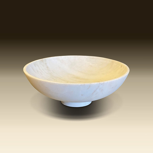 Marble Footed Bowl