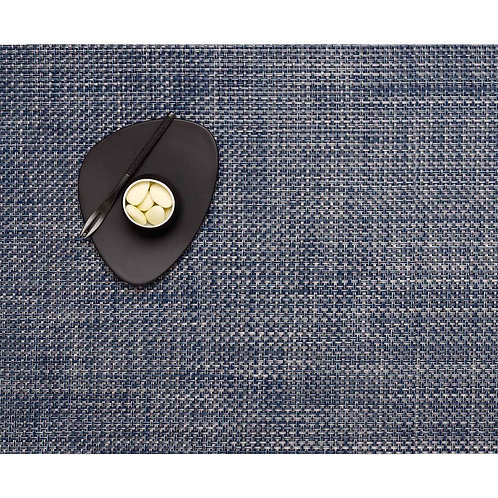 "Chilewich ""Basketweave"" Placemat in Denim"
