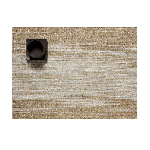 "Chilewich ""Ombre"" Rectangular Placemat in Gold"