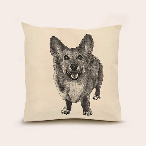 """Corgi"" Pillow"