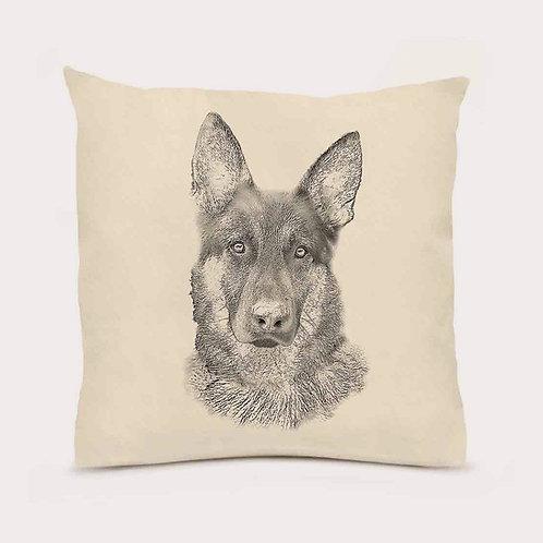 """German Shepherd"" Pillow"