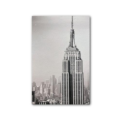 """""""Empire"""" Photograph on Fresco"""