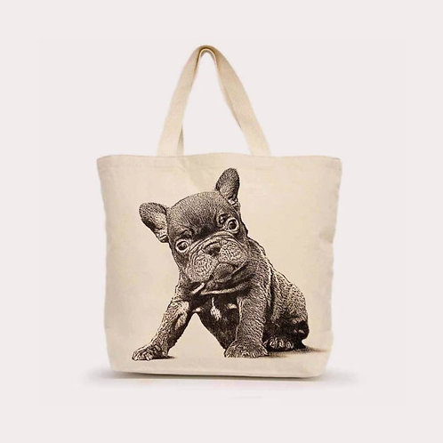 """""""Frenchie"""" Tote"""
