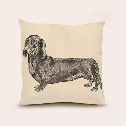 """""""Dachshund"""" Pillow"""