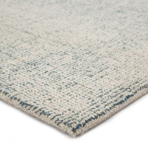 Oland Area Rug - Soldier Blue & Oatmeal