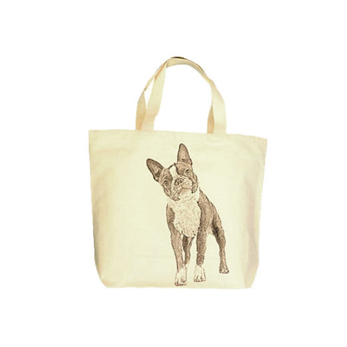 """Boston Terrier"" Tote"