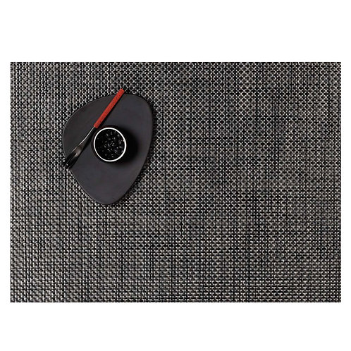 "Chilewich ""Basketweave"" Placemat in Carbon"