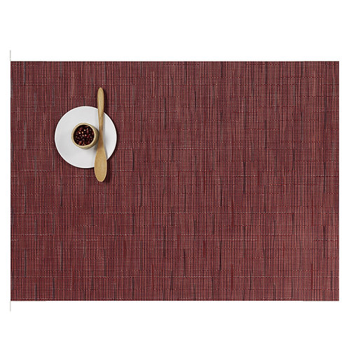 "Chilewich ""Bamboo"" Placemat - Cranberry"