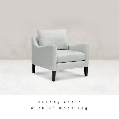 Sunday Downslope Arm Chair