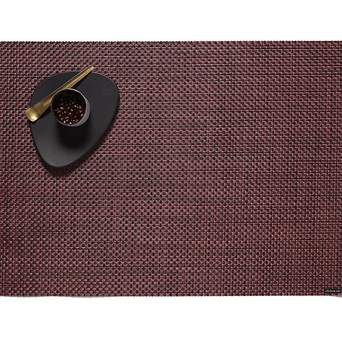"""Chilewich """"Basketweave"""" Placemat in Plum"""