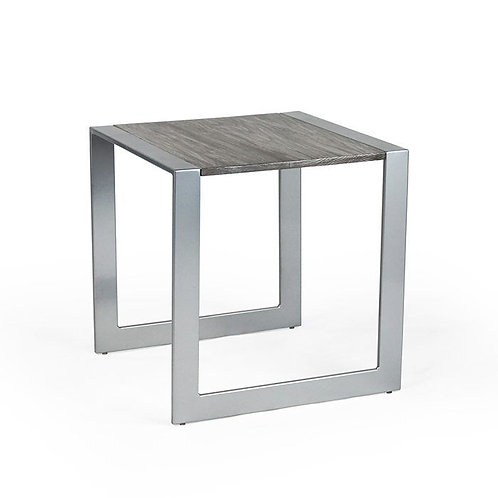 Transit Side Table, Wood Top