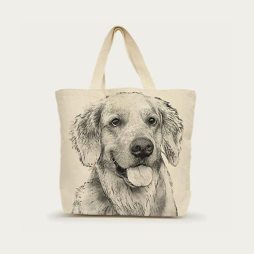 """Golden Retriever #2"" Tote"