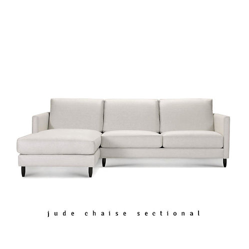 Jude Chaise Sectional - Quick Ship