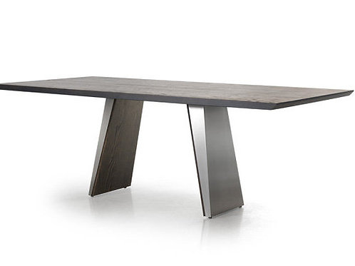 Timeless Dining Table - Rectangle with Solid Oak Top