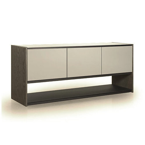 Vision Buffet with Etched Glass
