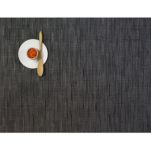 """Chilewich """"Bamboo"""" Placemat - in Smoke"""