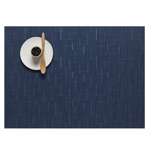 """Chilewich """"Bamboo"""" Placemat in Lapis"""