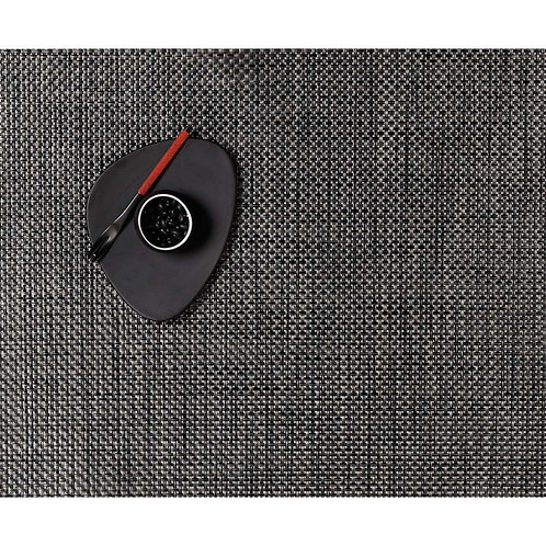 """Chilewich """"Basketweave"""" Placemat in Carbon"""