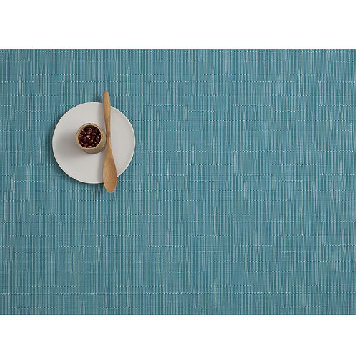 """Chilewich """"Bamboo"""" Placemat - Teal"""