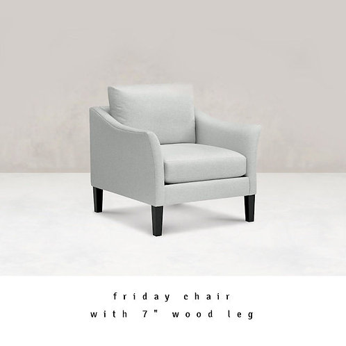 Friday Flared Arm Chair